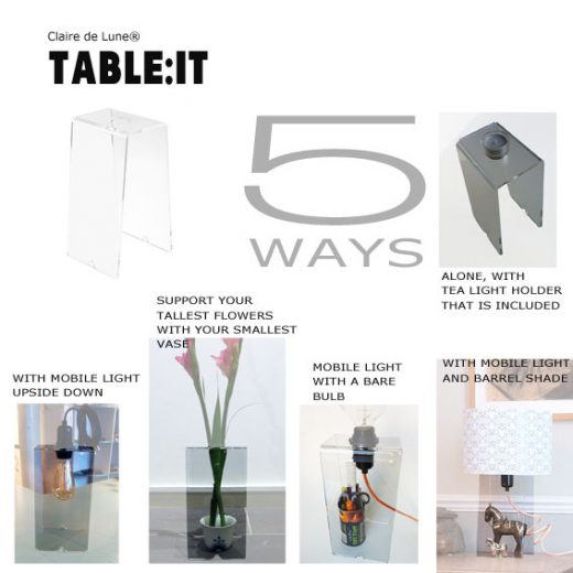 TABLEIT5WAYS